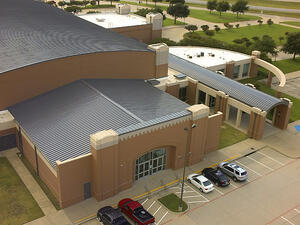 Standing Seam System on Civic Center