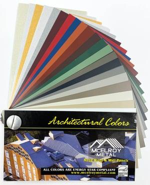 Architectural Color Chip Deck