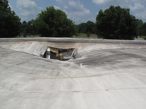 single ply over metal roofs
