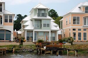 McElroy Metal Meridian Standing Seam Roof System Installed on Waterfront Home