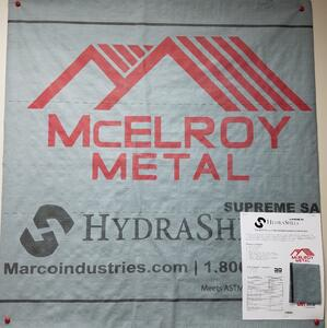McElroy Hydrashell Roof Underlayment