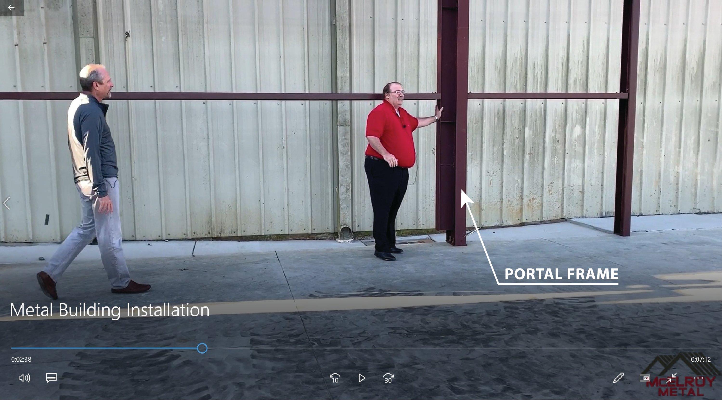 Portal Frame 011221