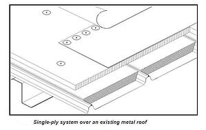 TPO versus metal roofing retrofit 3