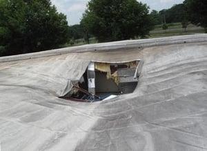 TPO versus metal roofing retrofit 4-1