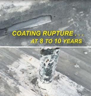 coatings rupture