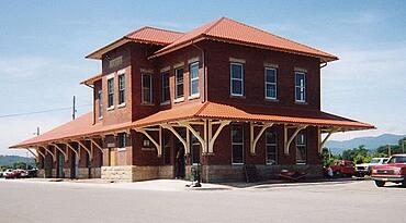 Montana Railway Depot