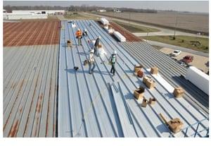 metal over metal roof