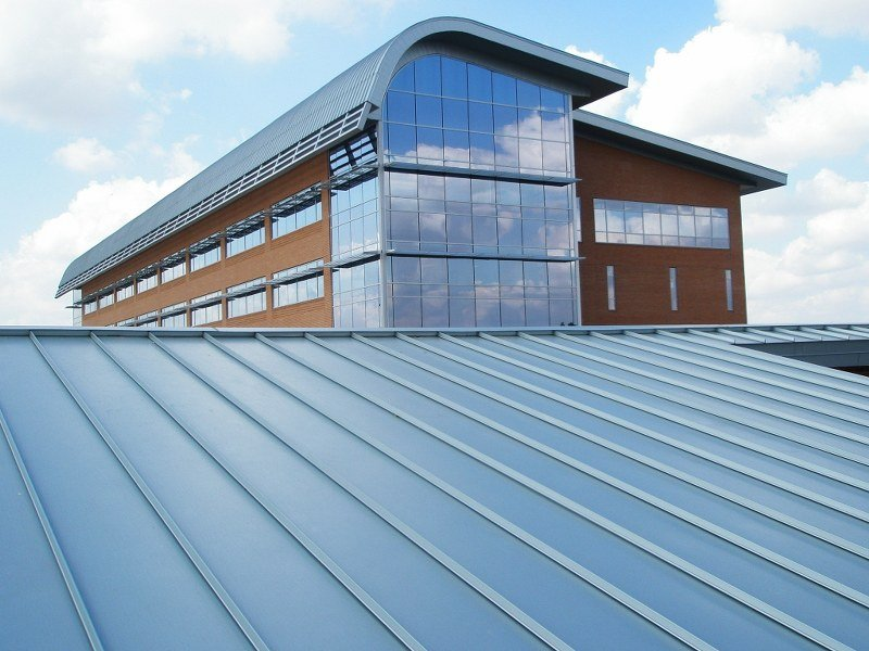 138T & 238T Standing Seam System on Large Business Building
