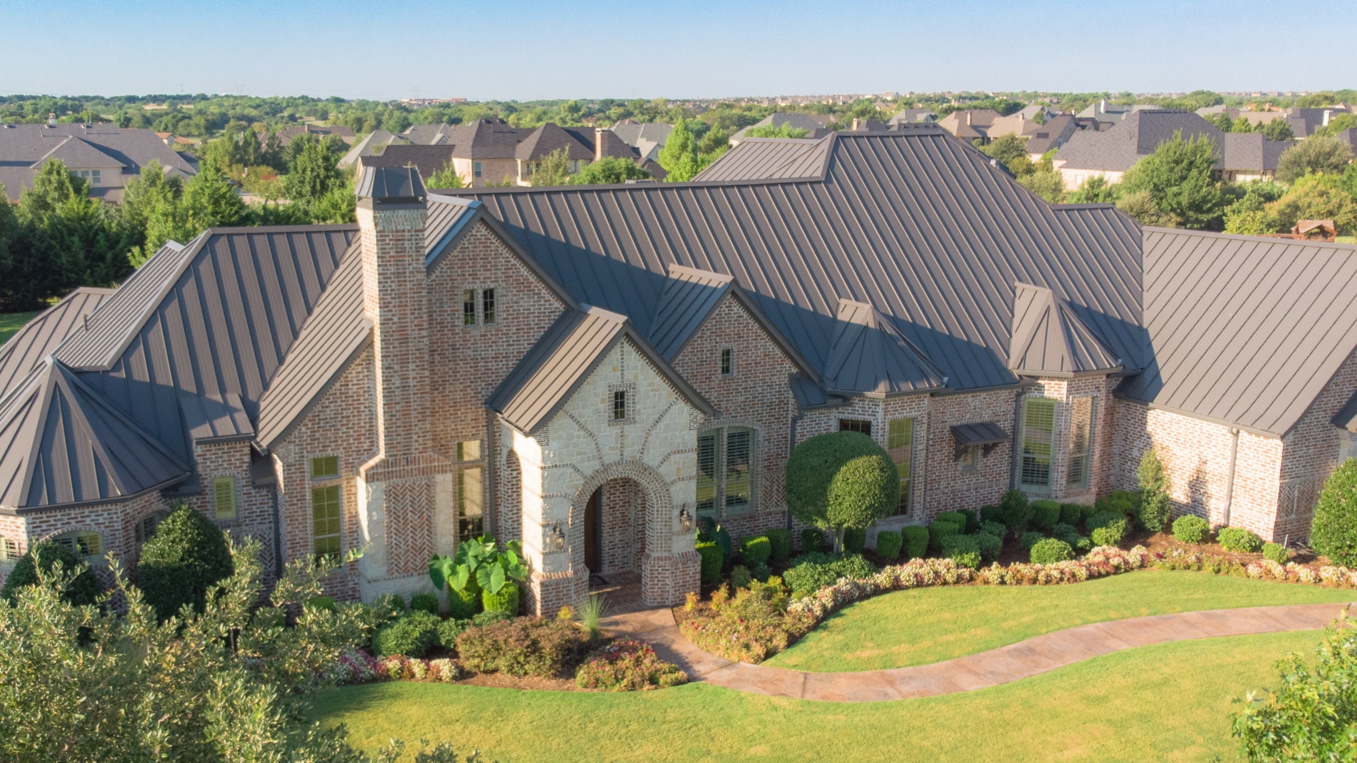 Standing Steam Metal Roofing in Texas