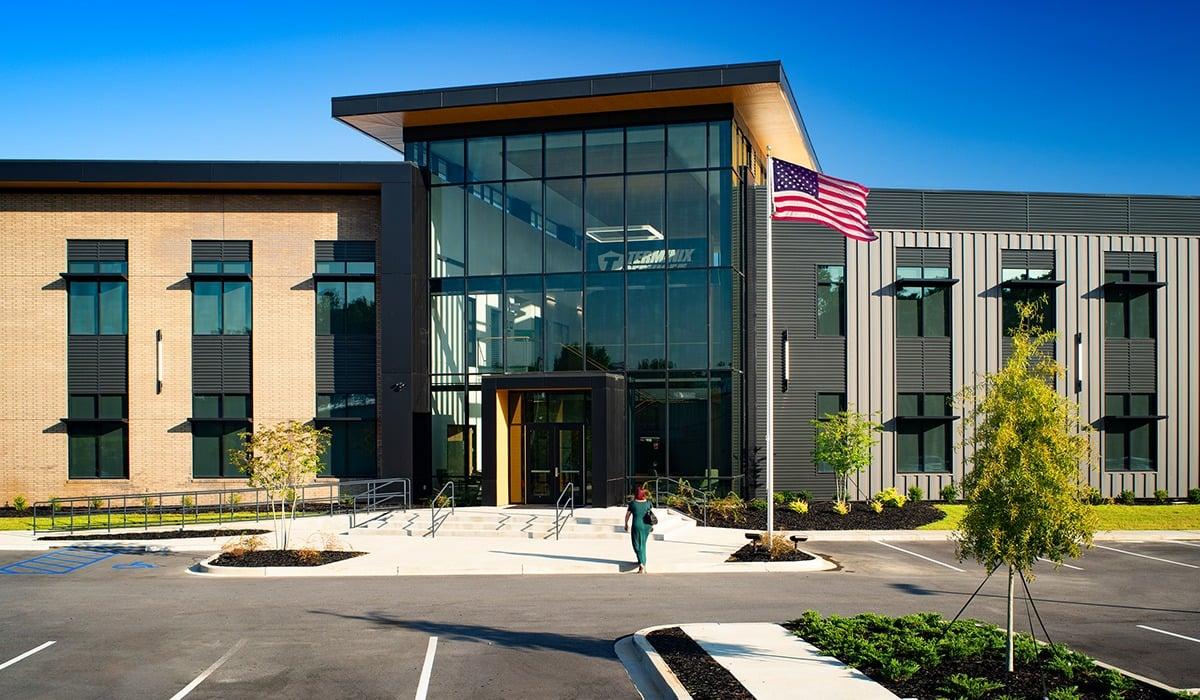 Three Distinct Metal Wall Panels for New Terminix Headquarters