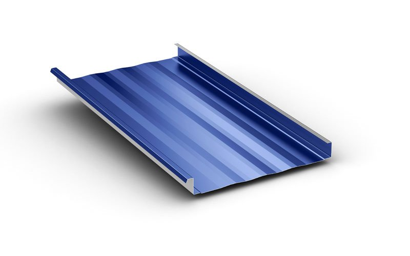 Maxima Vertical Leg Standing Seam Roofing Panels Mcelroy