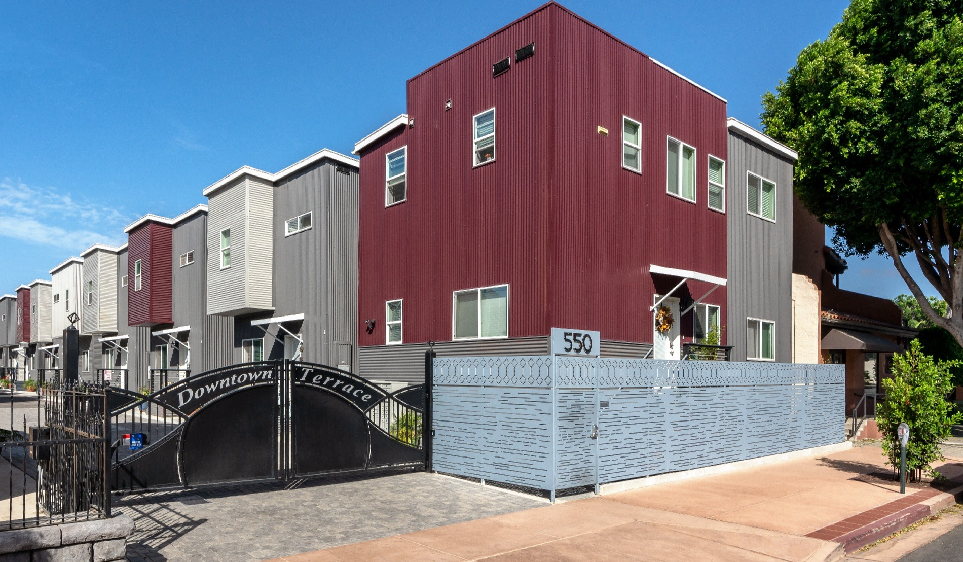 Corrugated Panels Provide Contemporary Aesthetic for California Apartments