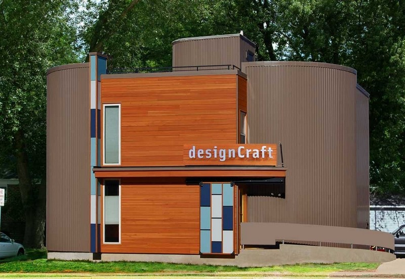 designCraft Advertising Madison, WI  - exterior metal wall panels
