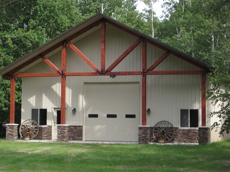 Garage Minnesota with Mesa Panels