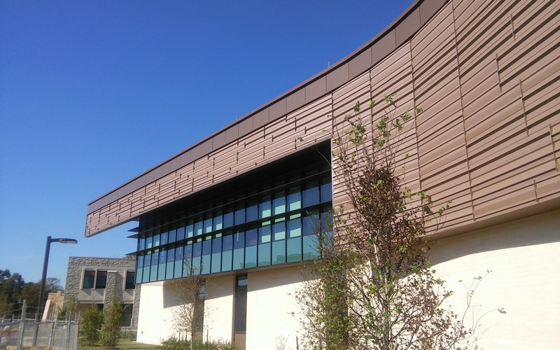 Slit Coil Used to Create Wall Panels for University of Houston Recreation Center