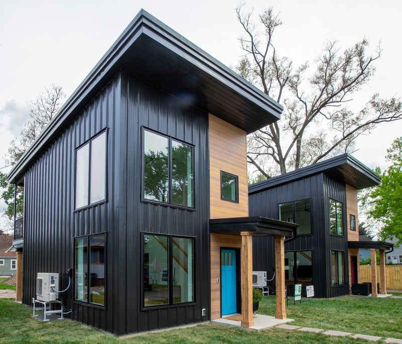 Multi-Rib Metal Roofing and Wall Panels Vital Piece of Net Zero 'Tiny Homes'